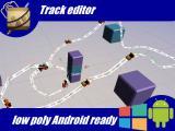 Track Roller Coaster Rail Keypoint Basic Editor - Unity Asset
