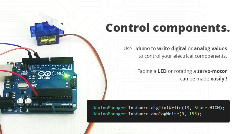 Uduino - Arduino and Unity communication, simple, fast and stable