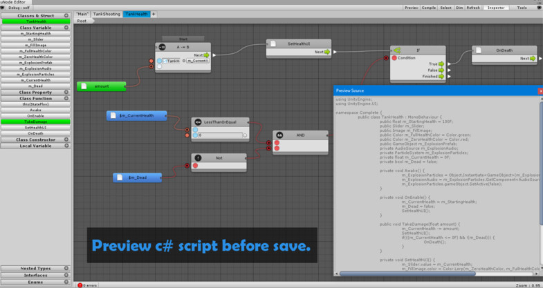 uNode - Visual Scripting