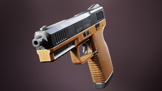 (5) FPS 4K Custom Modern Handguns - VOL.2