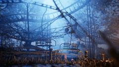 Abandoned Amusement Park - Unity Asset