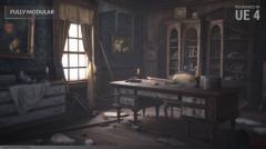 Abandoned Mansion _ Fully Modular Asset Pack - Unity Asset