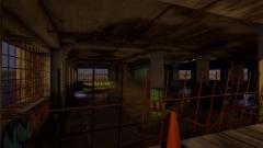 Abandoned Parking Garage - Unity Asset