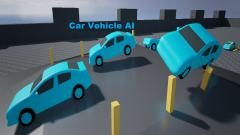 AI Blueprint Car - Unity Asset