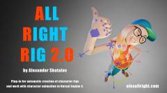 Allright Animation Rig 2.0 - Unity Asset