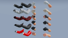 Animated FP Civilian Arms Pack - Unity Asset