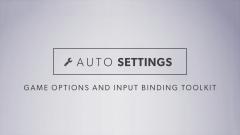Auto Settings - Unity Asset