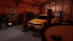 Car Service Garage - Unity Asset