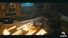 CyberPunk / Sci - Fi Apartment Interior Environment Kitbash - Unity Asset