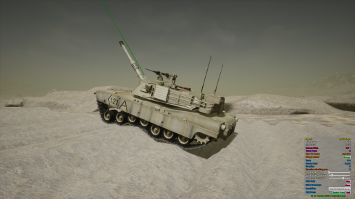 Driveable Physic Based Tank BP With Example AI