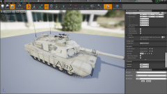 Driveable Physic Based Tank BP With Example AI - Unity Asset