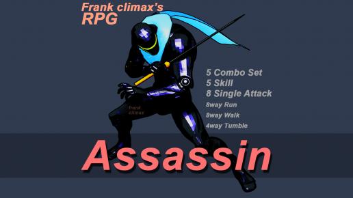 Frank Slash Pack (5 Asset)
