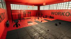 Workout gym - Unity Asset