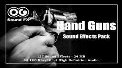 Hand Guns Sound Effects Pack - Unity Asset