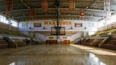 High School Basketball Gym - (Day/Night/Afternoon/Midnight Lighting) - Unity Asset