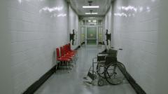 Hospital Corridor - Unity Asset