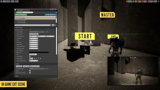 In Game Cut Scene