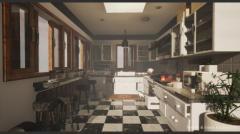Interior & Game Kitchen props v.03 - Unity Asset