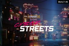 Kitbash3D Props Cyber Streets UE4 - Unity Asset