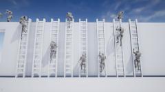 Ladders and Ledges Animset - Unity Asset
