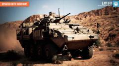 LAVIFV Infantry Fighting Vehicle - Unity Asset