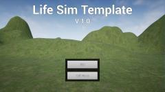 Life Sim Template - Unity Asset