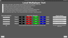 Local MultiPlay 1to4 - Unity Asset