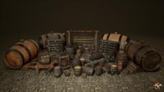Medieval Props: Cellar - Unity Asset