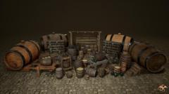 Medieval Props: Cellar - Unity Asset