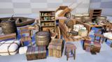 Realistic Medieval Forniture and Props Pack