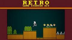 Retro Game Starter Kit - Unity Asset