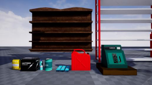 Retro Gas Station Pack