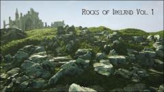 Rocks of Ireland - 3D Scanned, + Grass, Landscape Mat - Unity Asset
