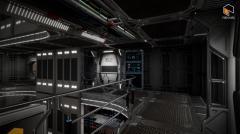 Sci Fi Orion Mars Living Quarters - Unity Asset