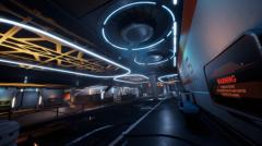 SCI-FI TRAM STATION - Unity Asset