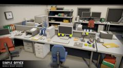 Simple Office Interiors - Unity Asset