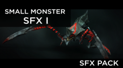 Small Monster SFX 1 - Unity Asset