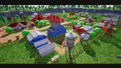 Stylized Farm Village - Unity Asset