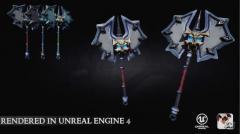 Stylized Mythical Weapons - Unity Asset