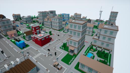 SV Low Poly City