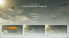 Third Person Story Adventure Template - Unity Asset