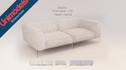 Unimodels Sofas and pillows vol. 1