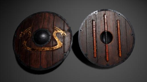 Viking Weapons and Shields Kit