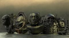 Vintage SciFi pack VOL 2 Android Mummies - Unity Asset